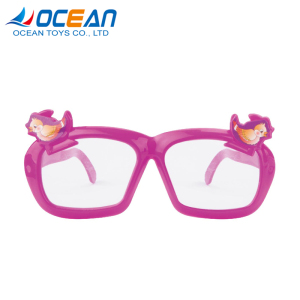 Children cool no glasses lens toy plastic eyeglasses for gift items promotional