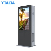 Touch Screen Interactive Double Sided LCD Screen Advertising Outdoor Display