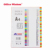 31 sheets plastic index file divider A4 colorful plastic file dividers for folder pp plastic dividers decorative index cards