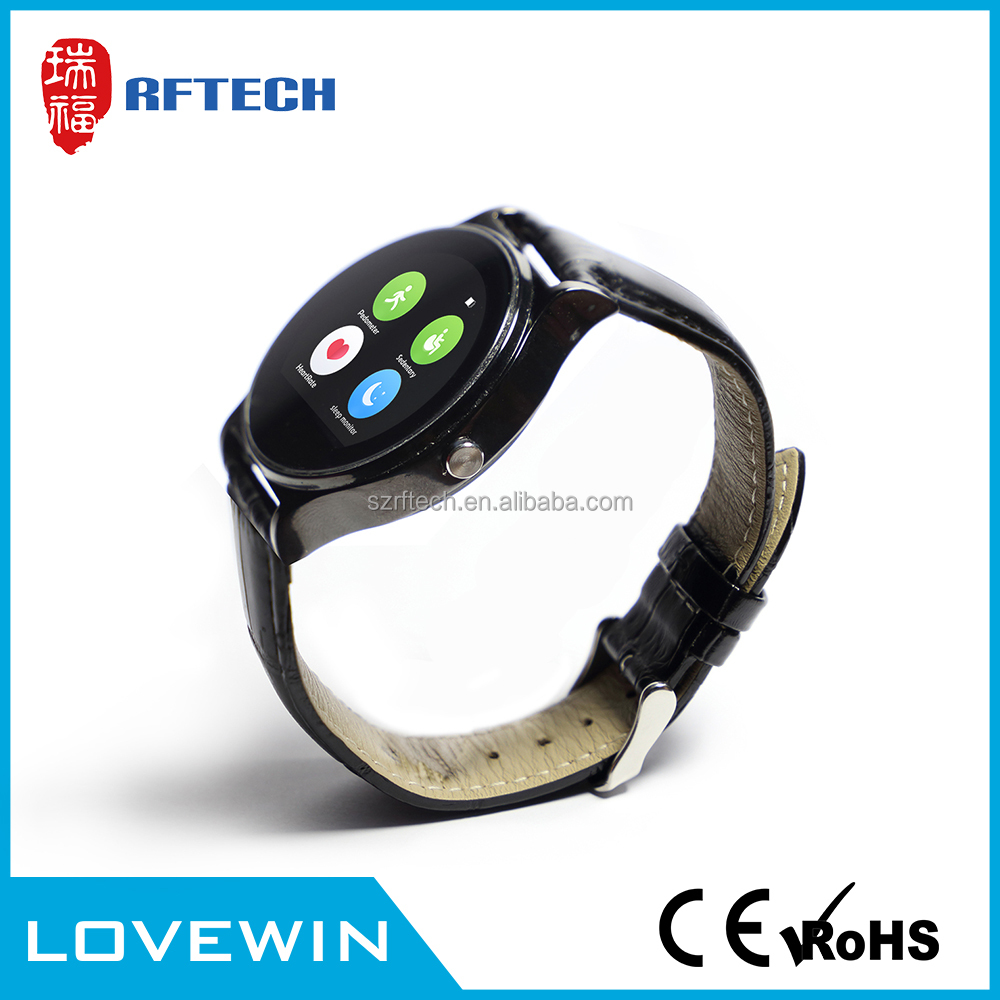 Factory price smart watch bluetooth watch connect with phone blu,touch screen smart watch ios