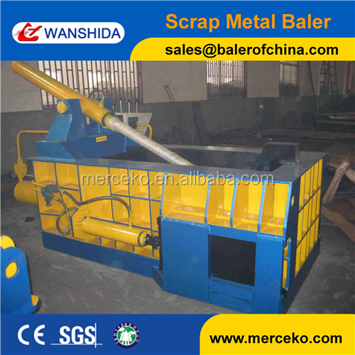 Y83/T-125 Hydraulic Metal Baler for copper steel aluminum light metal used scrap