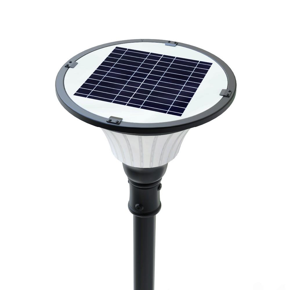 Motion Sensor Pole Mount Waterproof Solar Light Led For Outdoor ...