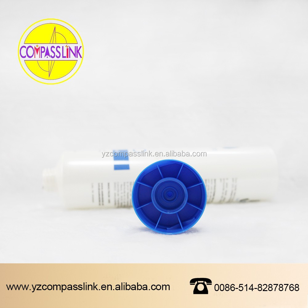 Hotel and resort tiny plastic tube for shampoo/shower gel packing/Soft Cosmetic Tube Packaging