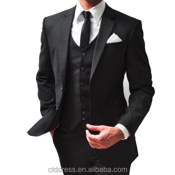 8d2c4a565e10 New Design High Quality 3 Piece Coat Pant Man Suit - Buy New Men ...