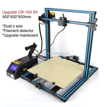 auto resume print power off 500500500mm creality cr 10 s5 3d