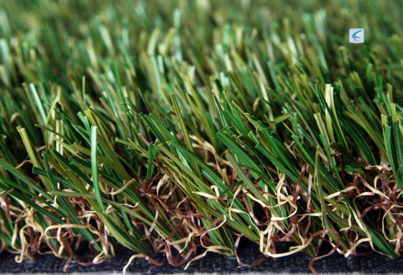 Alta calidad artificial pl stico grass alfombra cesped for Alfombra cesped artificial