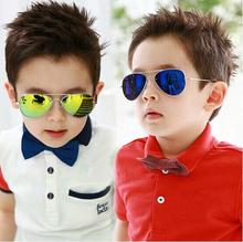 2015 New Fashion Baby Boys Kids Sunglasses Piolt Style Brand Design Children Sun Glasses 100%UV Protection Oculos De Sol Gafas