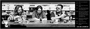 """The Big Lebowski - Movie Poster (Memorable Quotes) (Size: 36"""" x 12"""") (By POSTER STOP ONLINE)"""