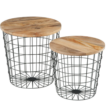 Wire Frame Coffee Table.Storage Basket Design Metal Wire Frame Coffee Table Set With Solid Wood Cover Buy Coffee Table Round Coffee Table Metal Wire Frame Coffee Table