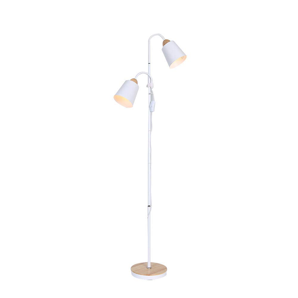 MGLDD Vertical Log LED Floor Lamp Simple Modern Nordic Style Suitable For Living Room Bedroom Bedside Table Lamp H: 150cm