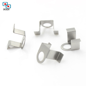 wholesale custom high precision steel belt clip u shaped fix spring clip