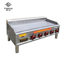 Efficient professional gas grill sales griddle & grill stove steak grill