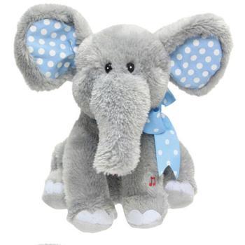 Peluche Elephant Plush Toy Electronic Music Baby Elephant Soft Toys