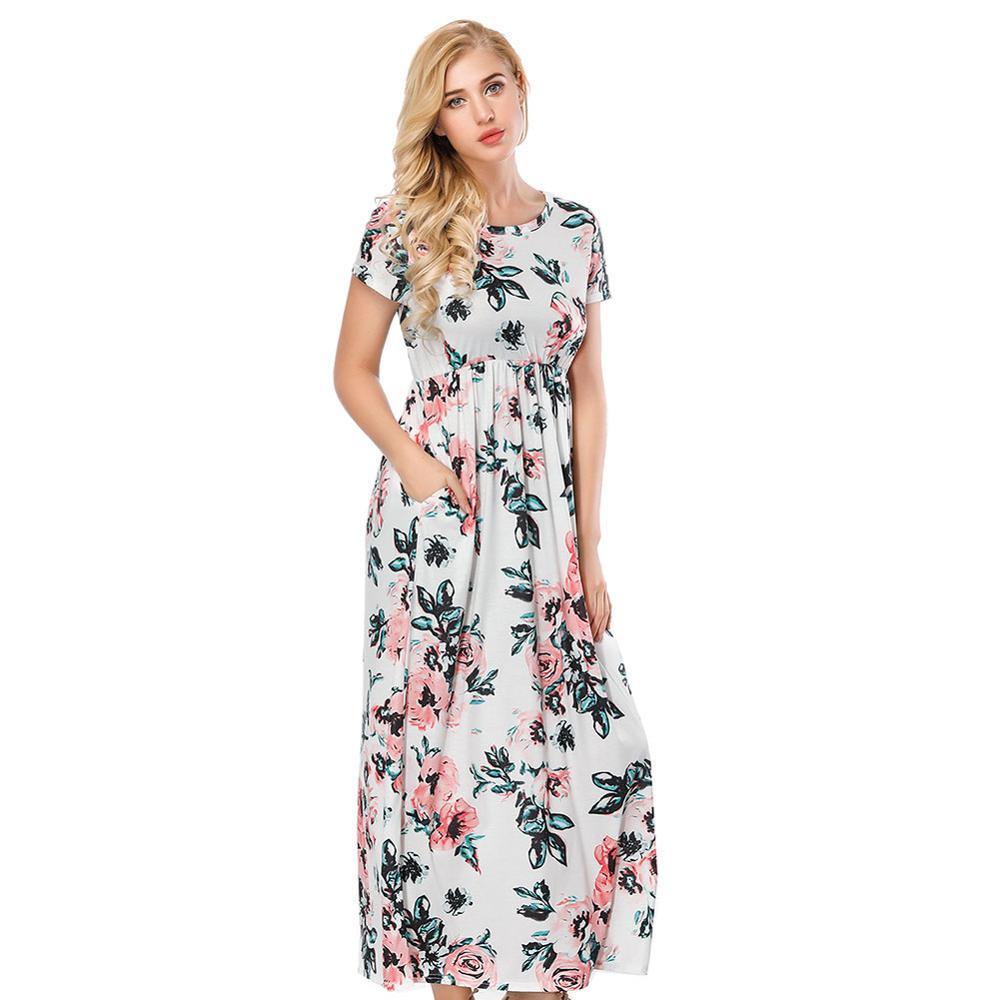 d05cd7ef8ae9 China short sleeve maxi dress wholesale 🇨🇳 - Alibaba