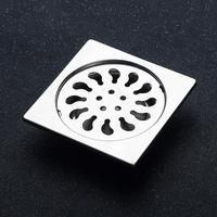 Bathroom Floor Drain Stainless Steel Cover