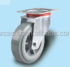 PU Caster Wheel with Top Plate 2 Ton Heavy Duty Caster Wheels