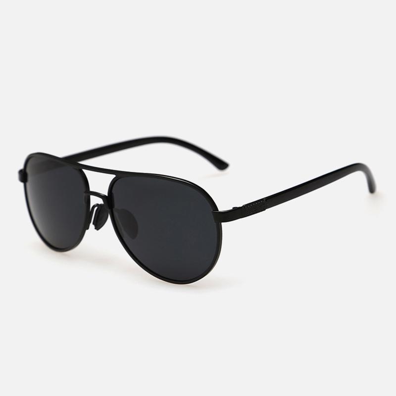 115157520e9 AliExpress Classic vintage Driving Sunglasses men flat top metal frame  polaroid polarized sun glasses men s UV400 driving