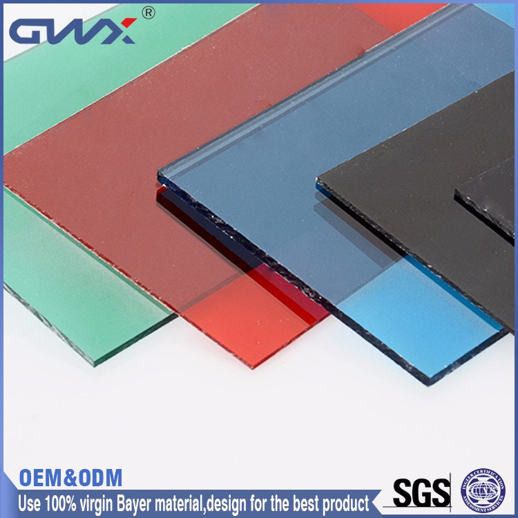PC soundbarrier Board High Quality Low Price GWX Plastic Ltd polycarbonate solid sheets