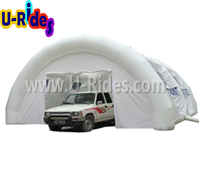 pvc tarpaulin car used inflatable car storage tent for outdoor