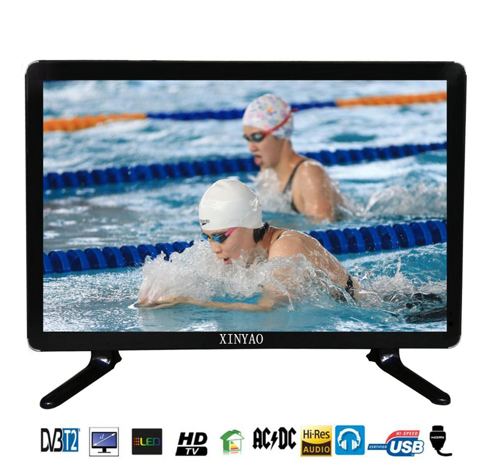 Power saving lcd tv 21 inch ultra slim with one years warranty