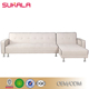 Wholesale hot sale creamy-white modern sofa bed water bed