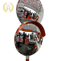 Outdoor Acrylic Traffic Safety Road PC Convex Mirror