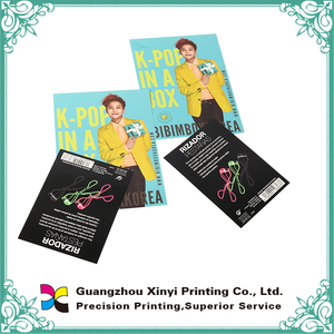 Offset printing machine make the mini flyer printing