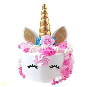 Reusable Unicorn Cake Topper For Birthday Party