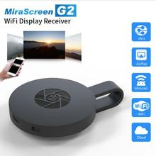 Hot Mirascreen G2 Dual Band wireless transmitter miracast, 1080P TV Converter Adapter for Streaming Video, Web Surfing, Photo