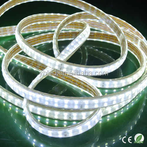 Double line high brightness waterproof led strip smd led light 5050 led cool white trips