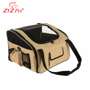Car or bike package carrier protect a pet drag bag travel bag airline approved