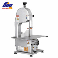 High efficiency kitchen equipment meat band saw cutting,bone meat cutter,electric bone saw