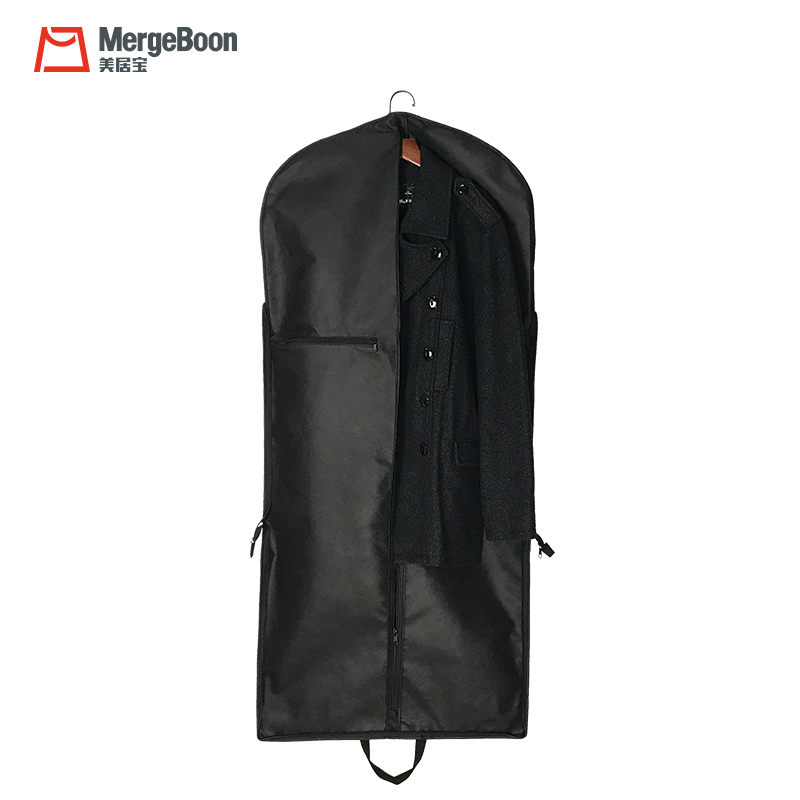 High grade nylon foldable suit cover travel garment bags for suits and dresses
