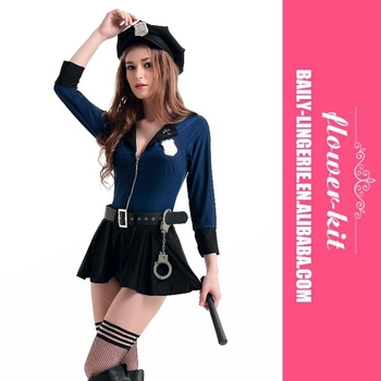 Sexy police costumes for women