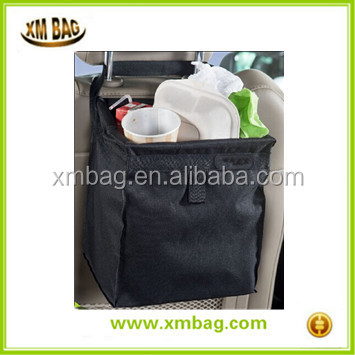 BSCI high speed car backseat car garbage can, waterproof liner for cooler bags, car trash bag ,the drive bin