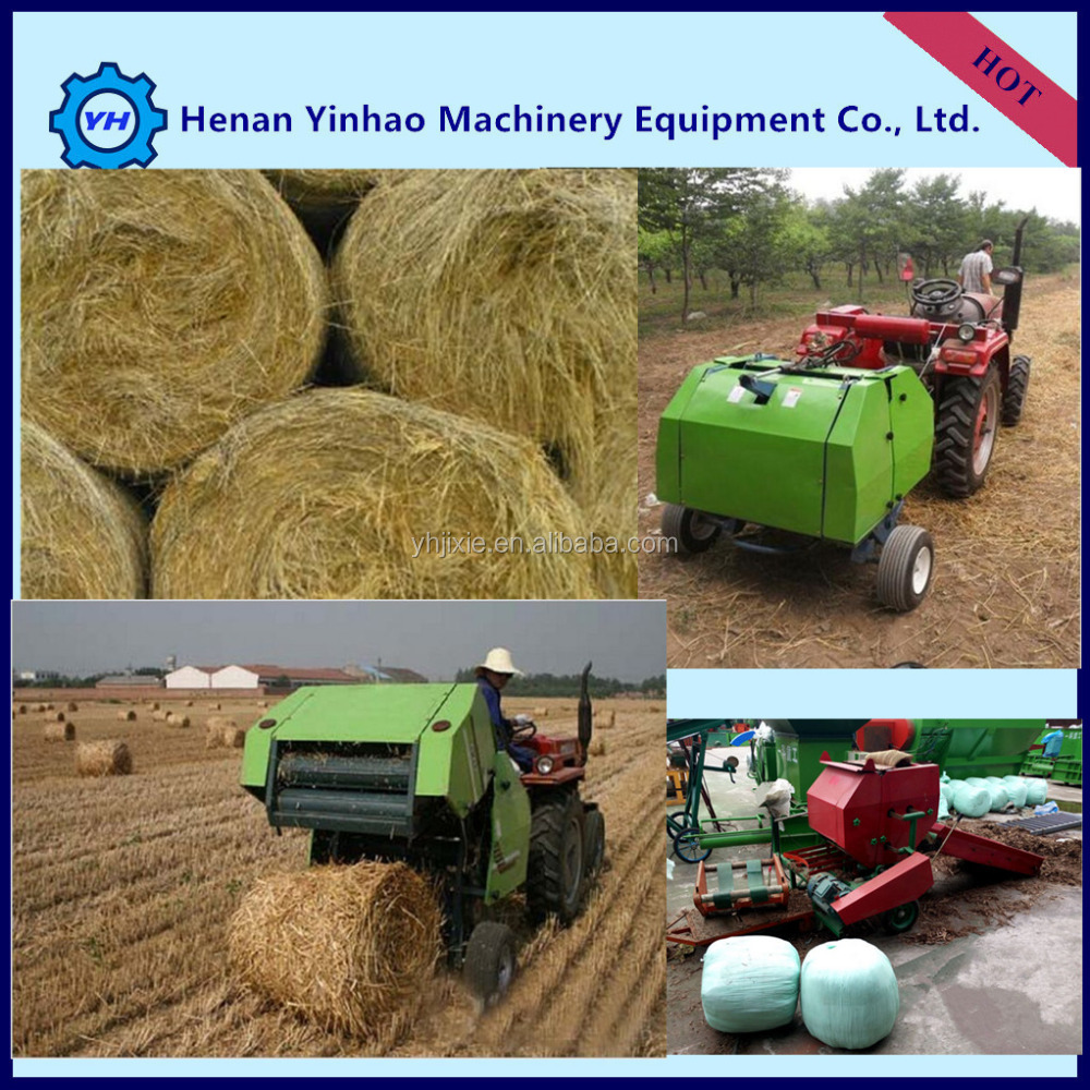 China Lowest Price New Design Lawn Mower With Mini Hay Baler ...