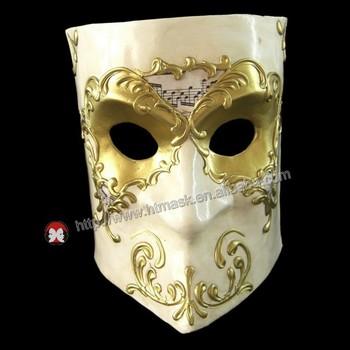 Doğaçlama Komedi Lüks Venedik Maskesi Maskeleri Erkekler Bauta