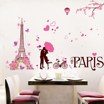 Decoraci 243 N De La Boda De Dibujos Animados Torre Eiffel