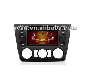auto radio car dvd foR E87 with GPS BT ipod RDS TMC//VCAN0370-8