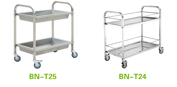 Restaurant table rack ss201 hotel room service trolley for Hotel room service cart
