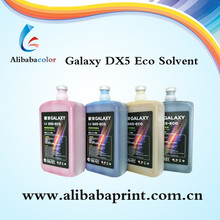 Top quality tinta eco solvent Galaxy dx5 ink for inkjet printer