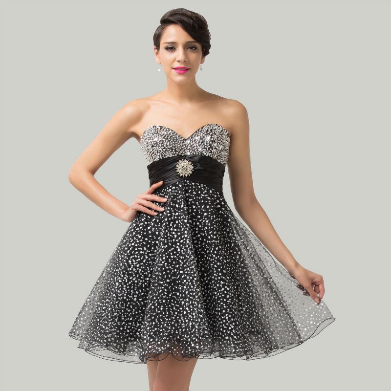 9059200cc10 2015 nouvelle conception de mode chérie perles robes de cocktail Grâce  Karin bretelles Parti Robes courtes