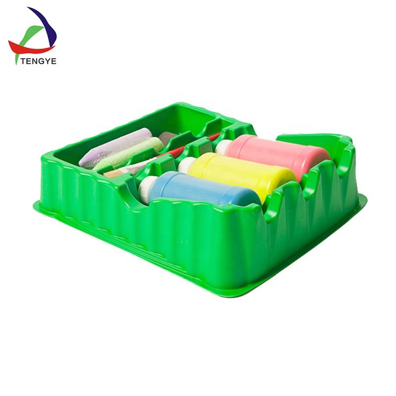 Plateau en plastique thermoformé, ABS/PS/Acrylique grand plateau, formage sous vide plateau en plastique ABS