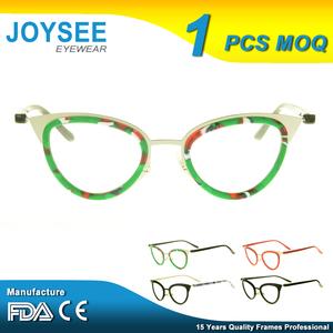 4edb33ab2e5 Joysee Bulk Italy Design Hand Polished China Fashion Men And Women  Prescription Naked Glasses Frames