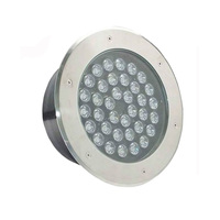 china supplier IP67 stainless steel cover 12pcs led round inground uplighter / solar led underground buried light with dmx