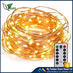 High Quality Battery Operated Christmas Led Copper Wire String Fairy Battery Power Led Garland Light