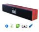 2017 new TV LED DISPLAY WMA FM radio wireless bluetooth speaker Soundbar