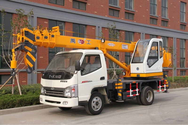 7 ton mini truck mounted crane small jib