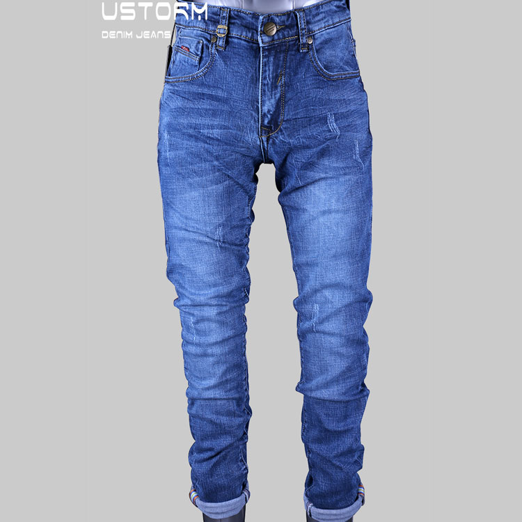 hot sale import good quality in men jeans with OEM/ODM