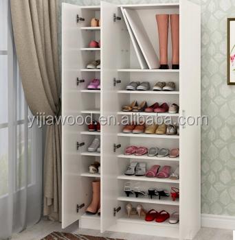 Simple Large Capacity Shoe Cabinet / Balcony Shoe Racks